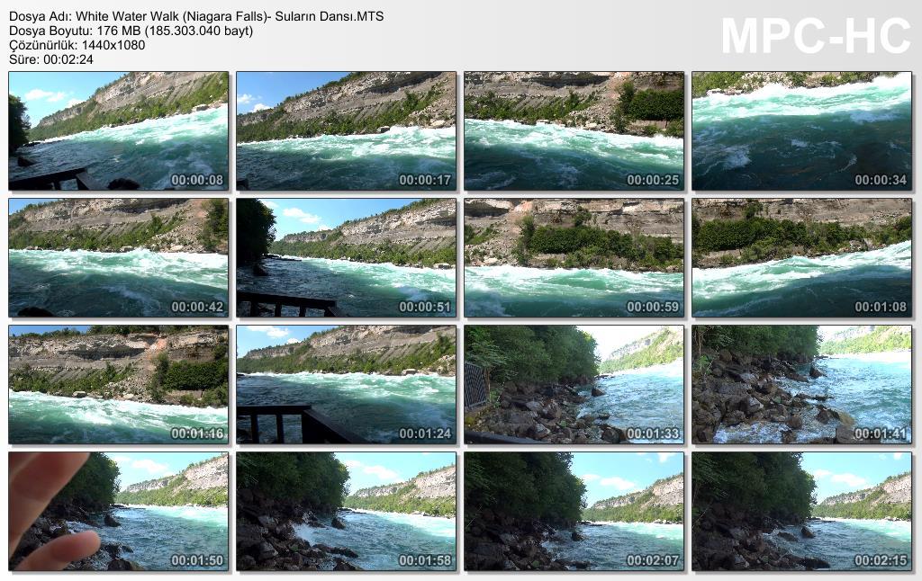White Water Walk (Niagara Falls)- Suların Dansı