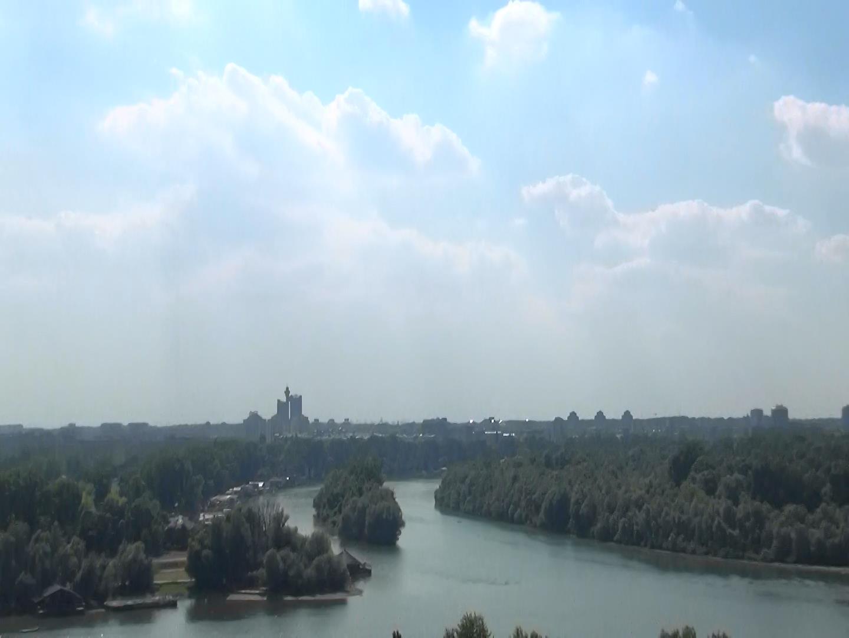 Tuna Nehri ve Sava Nehri Birleşim Noktası